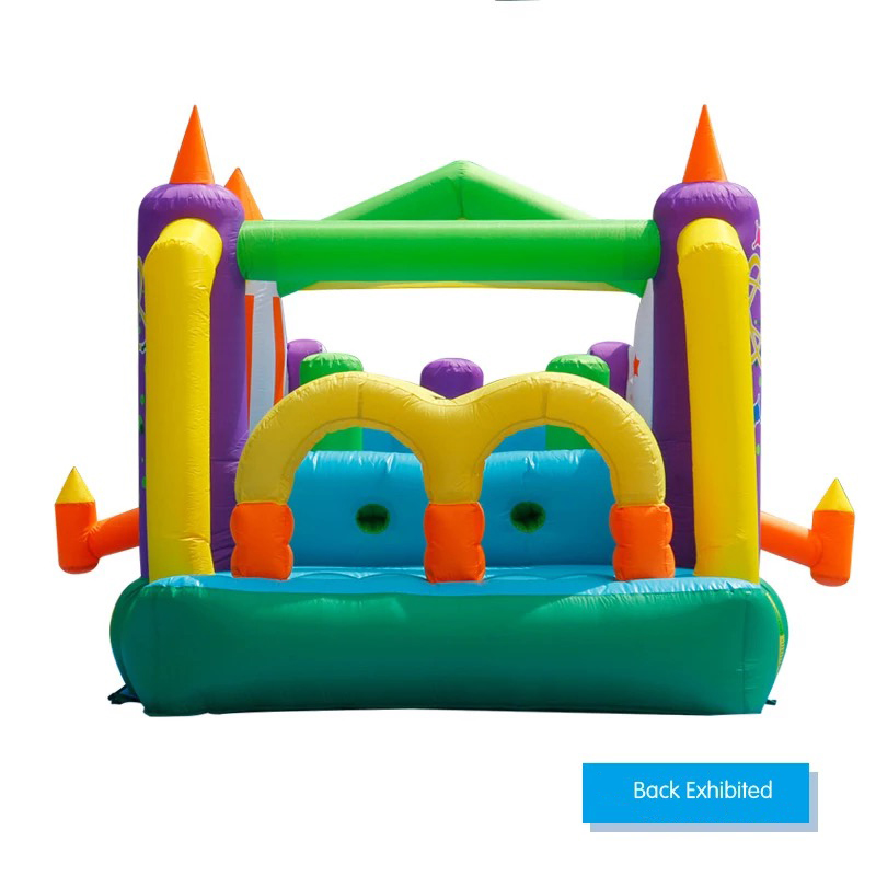 HTB1mZPlPFXXXXaoapXXq6xXFXXXo - Mr. Fun Large Inflatable Rocket Trampoline Bounce House Castle For Kids with Double Slide Multi-function Playgound with Blower