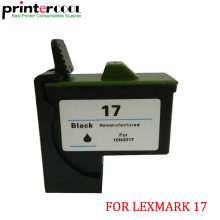 цена на For Lexmark 17 Black Ink Cartridge For Lexmark Z13 Z23 Z25 Z33 Z35 Z603 Z605 X75 X1150 Z515 Z615 for ink cartridge lexmark