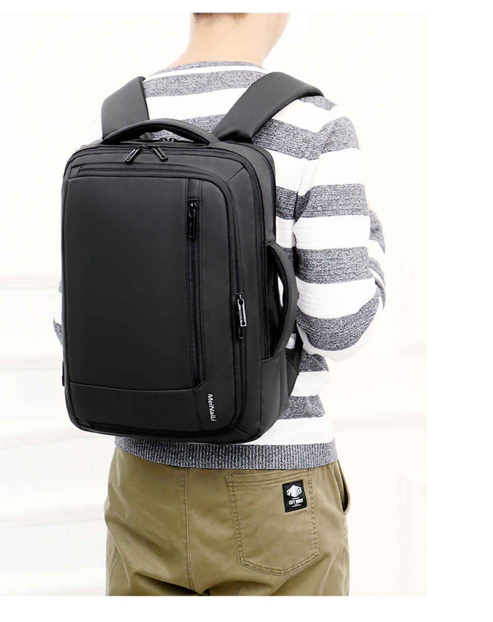 12 Multifunction USB Backpack Man Bag 15.6inch Laptop Backpacks Travel Bags Large Capacity Luggage Backpacking Waterproof Notebook
