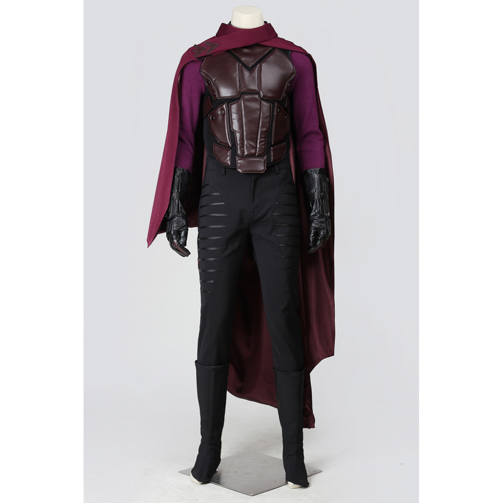 X-Men Cosplay X-Men:Days of Future Past Magneto Max Eisenhardt Cosplay Costume Adult Men's Halloween Carnival Costume Cosplay
