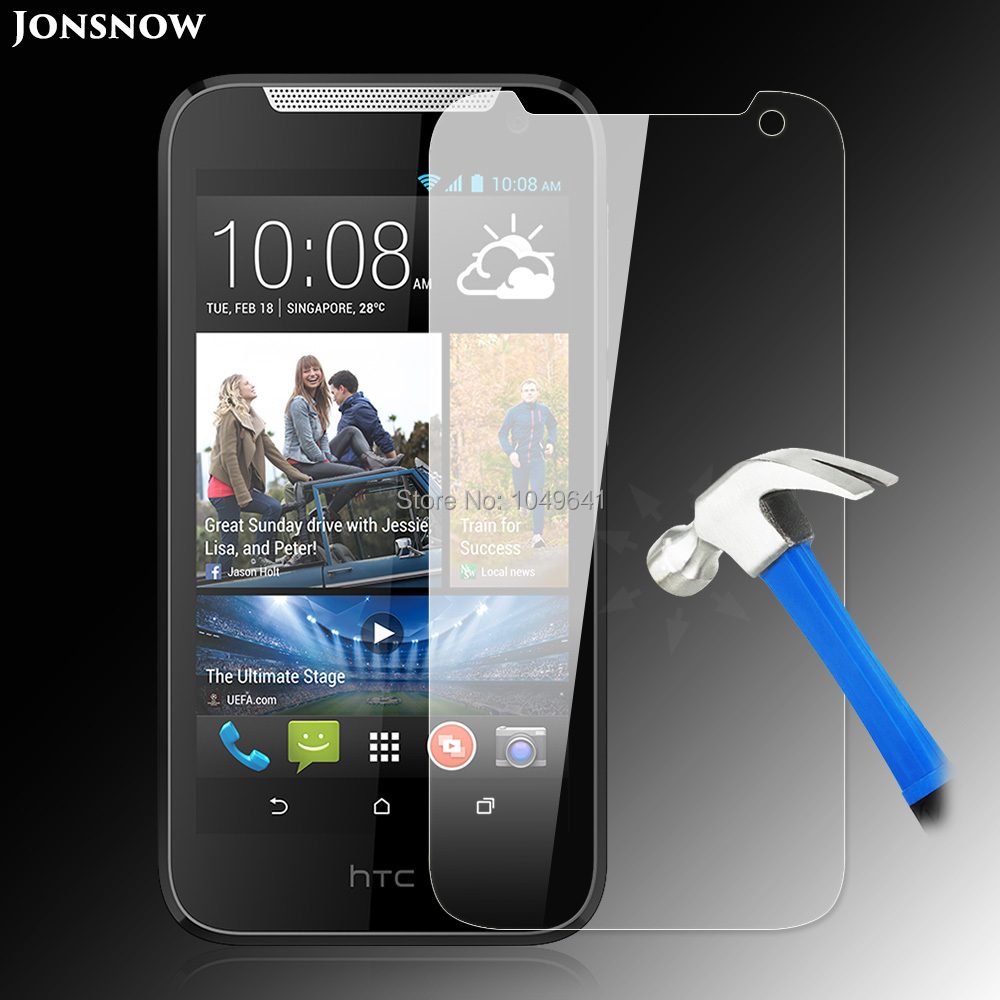 Jonsnow Tempered Glass Film for HTC Desire 310 High Clear Quality Explosion-proof LCD Screen Protector pelicula de vidroJonsnow Tempered Glass Film for HTC Desire 310 High Clear Quality Explosion-proof LCD Screen Protector pelicula de vidro