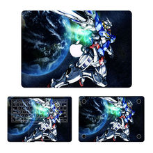 Gundam Robotic Anime Full Cowl Pores and skin Laptop computer Sticker for MacBook Air Professional Retina 11″ 12″ 13″ 15″ Protecting Pc Pocket book Decal