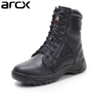 Free shipping 1pair ARCX Motorcycle Offroad MXGP Racing SPEED Sport Cowhide Leather Boots Motorbike Shoes