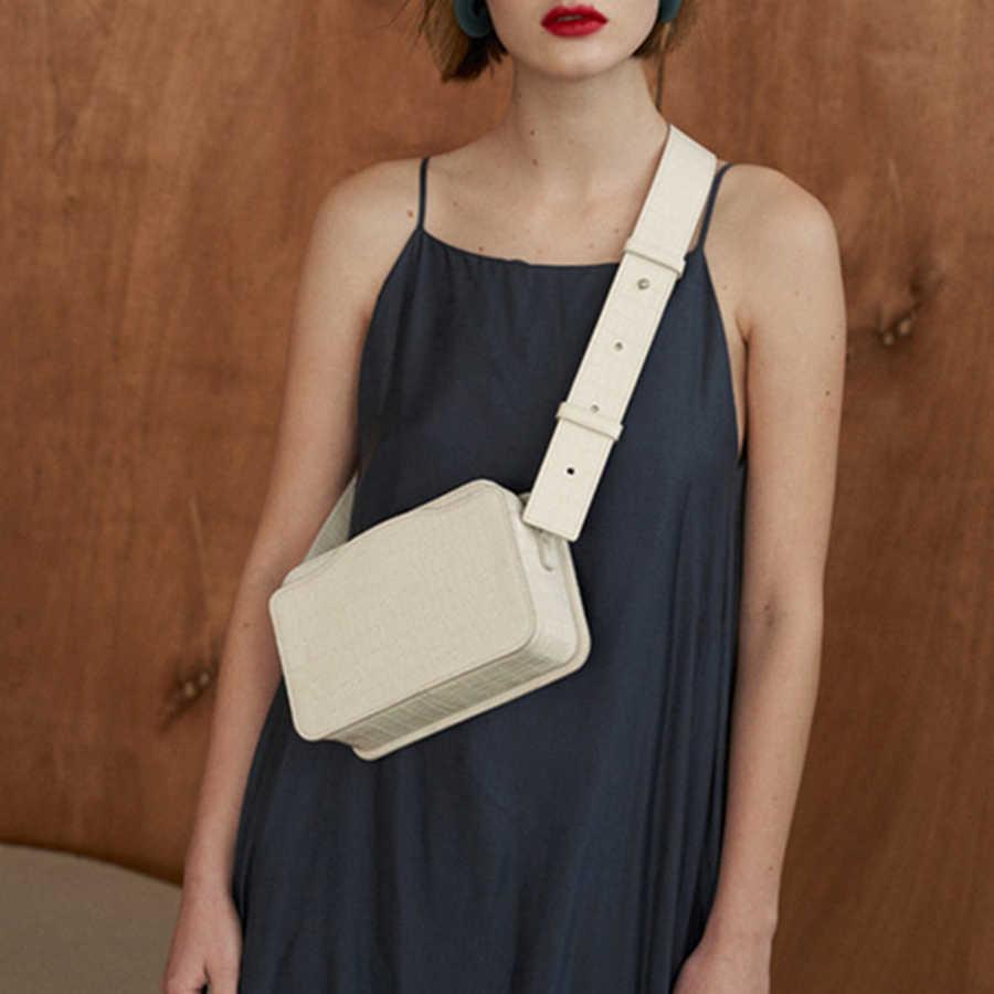 Винтажная маленькая квадратная сумка с узором «крокодиловая кожа» для женщин, модные сумки с двойной молнией, Женская Повседневная сумка через плечо, новинка