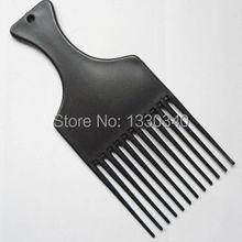 Selección peinetas mujer hombre viajes de tamaño de bolsillo DETANGLE lift AFRO peluca peine pik selección Pic herramientas de peinado