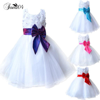 2017 Hot Flower Girl Dresses For Weddings Pageant White First Holy Lace Communion Dress Little Toddler