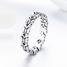 Genuine 925 Sterling Silver Butterfly Finger Rings For Women Fashion Party Birthday Rings Fine Jewelry Gift HB02C