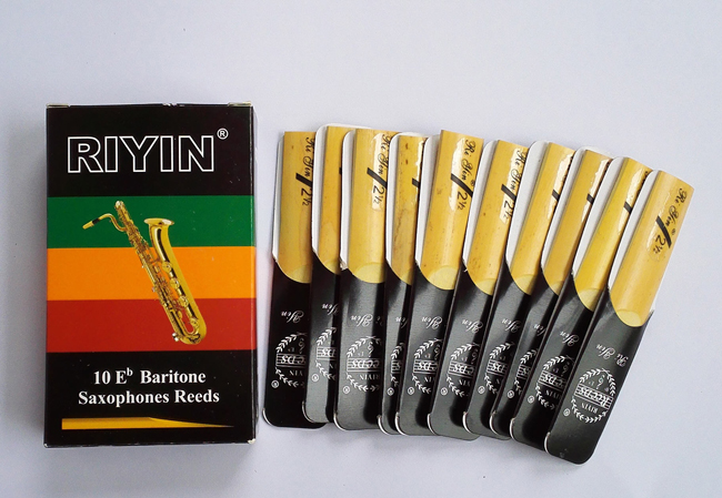 Cañas de saxofón Baritone Eb / caña de saxofón NUEVO # 2.5