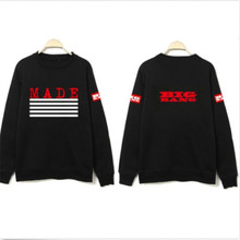 Kpop Bigbang MADE Fashion Hoody G-dragon GD TOP TaeYang Volle Hülse Länge Sweatshirts Regelmäßige Baumwolle Einzigartige Hoodies