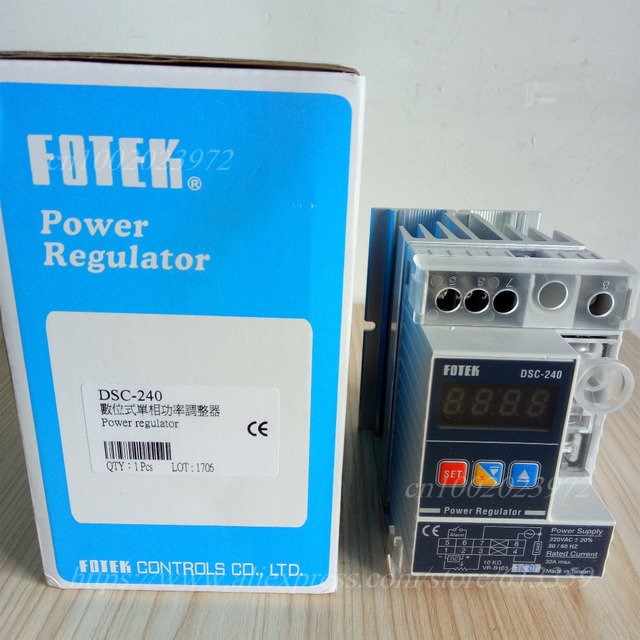 brand new 44f29 ff8c0 DSC-240 FOTEK Digital Power Regulator 100% New   Original