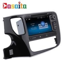 Dasaita 8 «Android 7.1 автомобиль DVD GPS игрока Нави Для Mitsubishi Outlander 2014 2015 с 2 г + 16 г 4 ядра автомобиля Радио мультимедиа HDMI