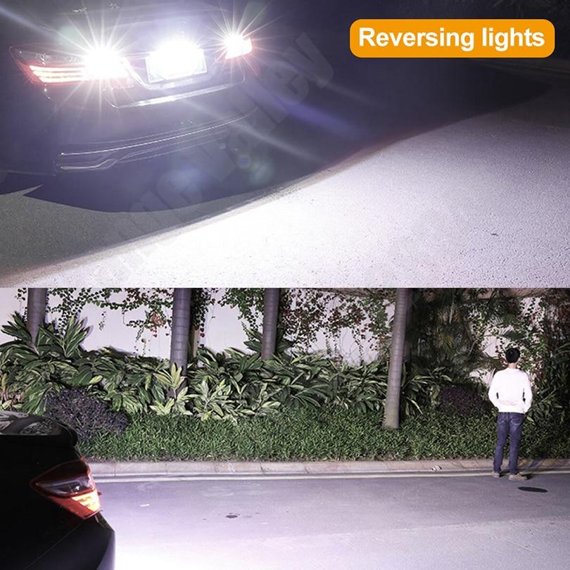HTB1mZTJRpzqK1RjSZFvq6AB7VXaY 2PCS Super Bright T15 W16W 921 45 SMD LED 4014 Car Auto Canbus Reverse Light Reversing Lighting Back up Lamp