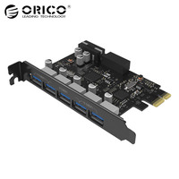 ORICO Desktop 5 Port USB3 0 PCI Express Card For Laptop Support Windows 10 8 7