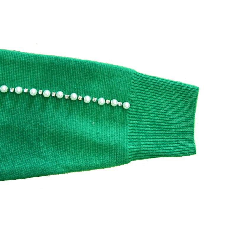 D'hiver Perlé Gamme En Perle Marque Mode Laine Décoratif Kenvy Dames Pull Luxe De Haut 1v0xg