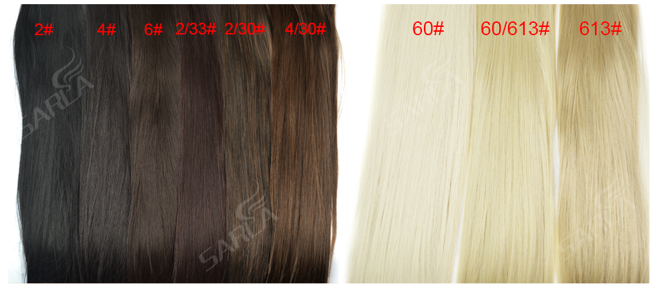 Women's 24in Straight Hair Extensions 13
