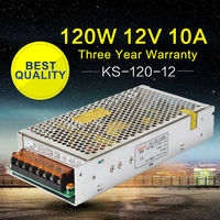 AC DC Switching Power Supply 12V 10A 120W Alimentation 12V Power Source For Led DIY 3D Printers, Repeater, VHF Ham Radio