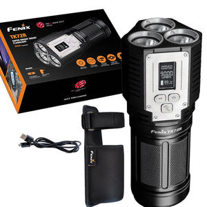 Fenix Searchlight Oled-Display Rechargeable Lumen Cree Xhp70 9000 Digital 3x