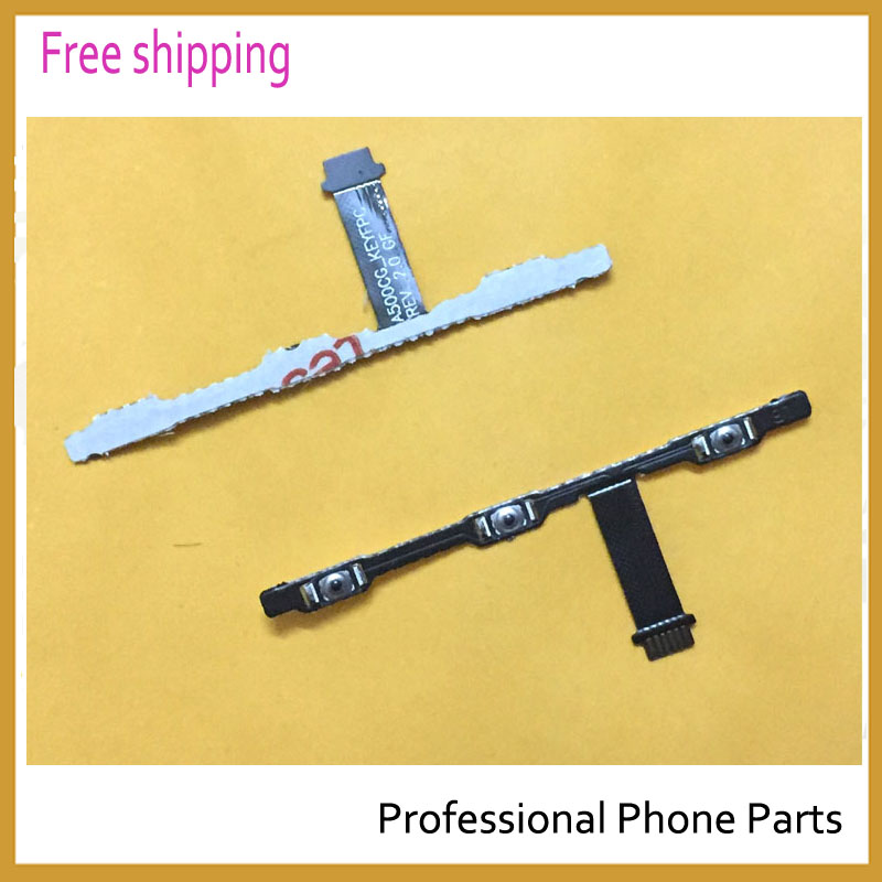 New Original Switch On Off Power Button Flex Cable For Asus Zenfone 5 A500cg A500kl A501CG T00j Replacement Parts Free Shipping