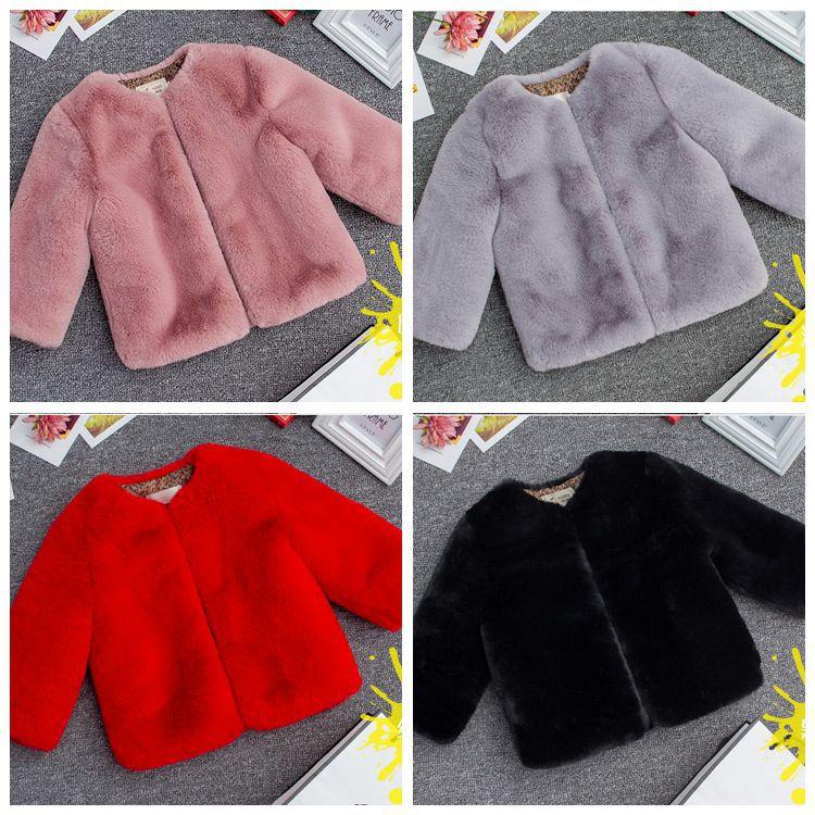 bf4861c96 Clobee Winter Faux Fur Teenage Coats Warm Jacket Cotton Snowsuit ...