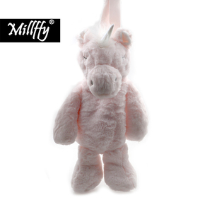 Image 1 - 1pc 어린이 가방 사랑 스럽다 유니콘 플러시 배낭 동물 만화 유아 배낭 가방 아기 소녀 소년 1 6 년 미니 여행 가방