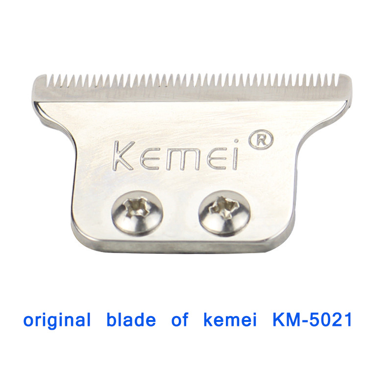 Kemei 5021 Replacement Blade Hair Clipper Blade Barber Cutter Head For Electric Hair Trimmer Shaver Clipper Cutting Machine replacement clipper blade cutter hair grooming trimmer head shaver comb brush