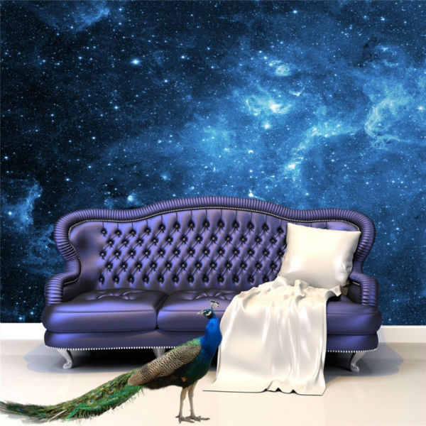 Online Buy Wholesale galaxy wallpaper for bedroom walls from China ...