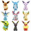 7.87'' 20CM Umbreon Eevee Espeon Jolteon Vaporeon Flareon Glaceon Leafeon Animals Stuffed Doll Toy 2017 Anime Pikachu Plush Toys