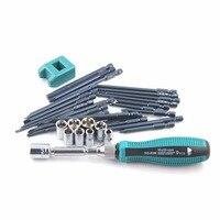 36PCS/SET Professional Screwdriver Set Combination Screwdriver Bit Repair Tool Hand Tools Home Repair Hand Tools