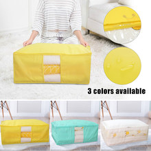 Quilt Storage Bag Closet Sweater Organizer Portable Window Moisture Proof Mildew Large Capacity Clothing Quilt Sorting Bag(China)