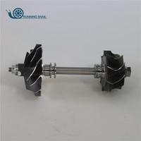 Turbocompressor ROTOR HT12-19B HT12-19D 14411-9S000 047282 para nissan Navara Datsun Truck ZD30 HT12 14411-9S00A 44*37/54*41.2