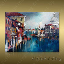 Paris Street Art Painting Home Decor Decoration Oil painting Wall Pictures for living room Decor	paint art paint2