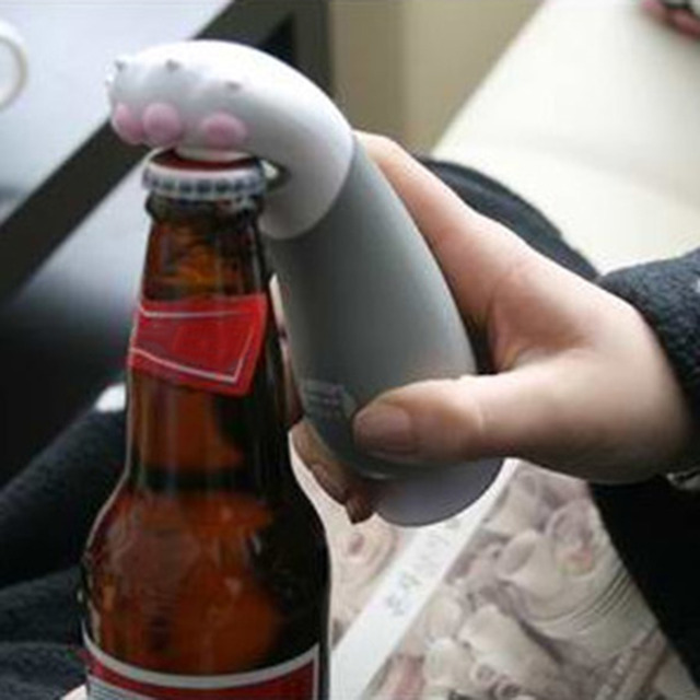 Cat Paw Shaped Hand Bottle Opener