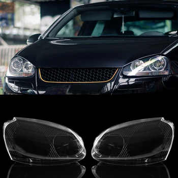 JX-LCLYL 1pair Headlight Clear Lens Cover For VW MK5 Rabbit Jetta GTI 06-09 R32 08 - DISCOUNT ITEM  8 OFF Automobiles & Motorcycles