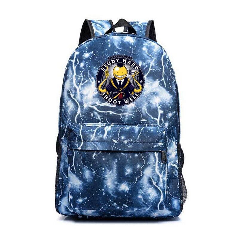 Anime Haikyuu Assassination Classroom Backpack Hinata Syouyou Schoolbags Fashion Travel Bag Pack For Teeagers Cartoon Backpack