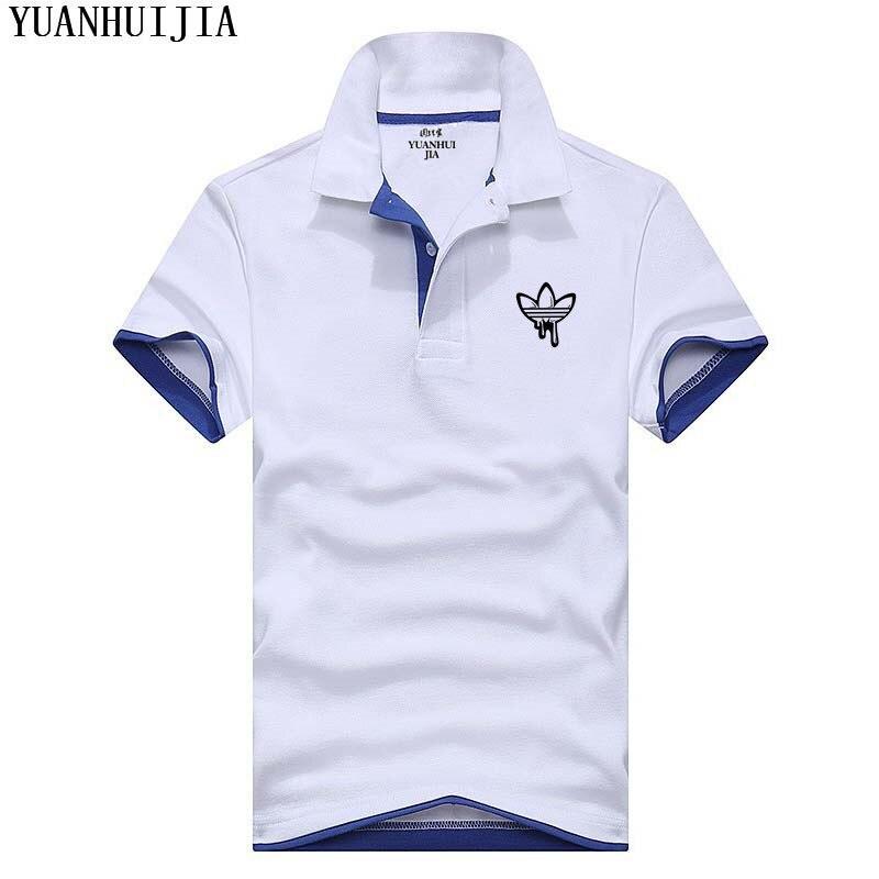 2018 Brand clothing New Men   Polo   Shirt Men Business & Casual male   polo   shirt Short Sleeve breathable   polo   shirt
