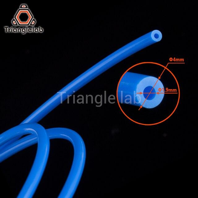 Trianglelab PTFE Tube Teflonto TL-Feeder hotend RepRap Rostock Bowden Extruder 1.75mm ID1.9mmOD4mm Capricornus tube 3