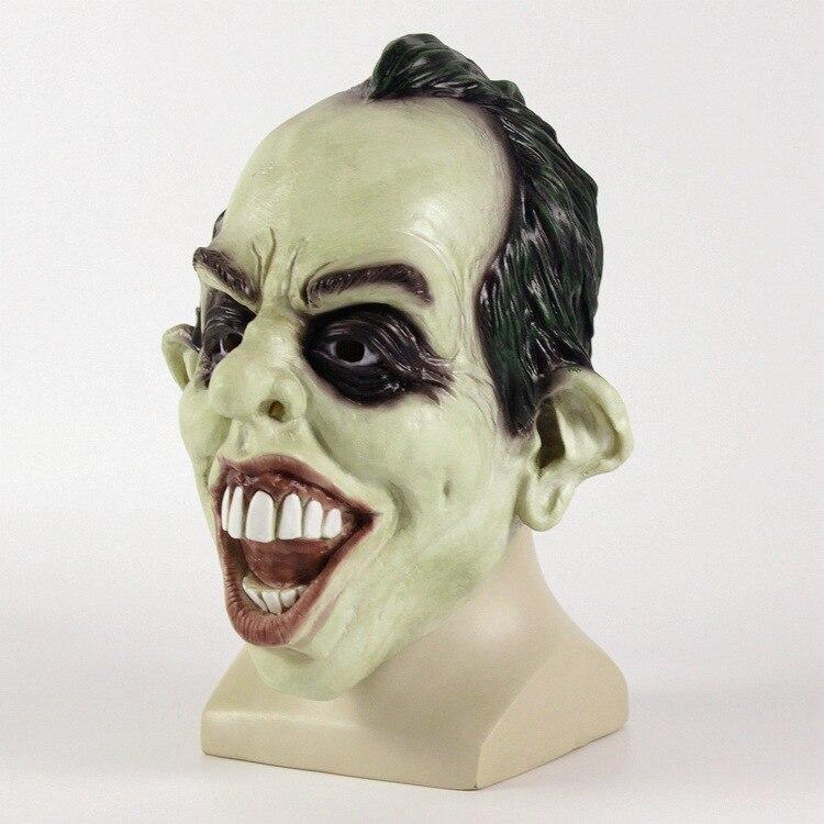 Batman The Joker Cosplay Mask Halloween Stage Latex Mask Costume Party Halloween Cosplay Headwear Prop Drop Ship