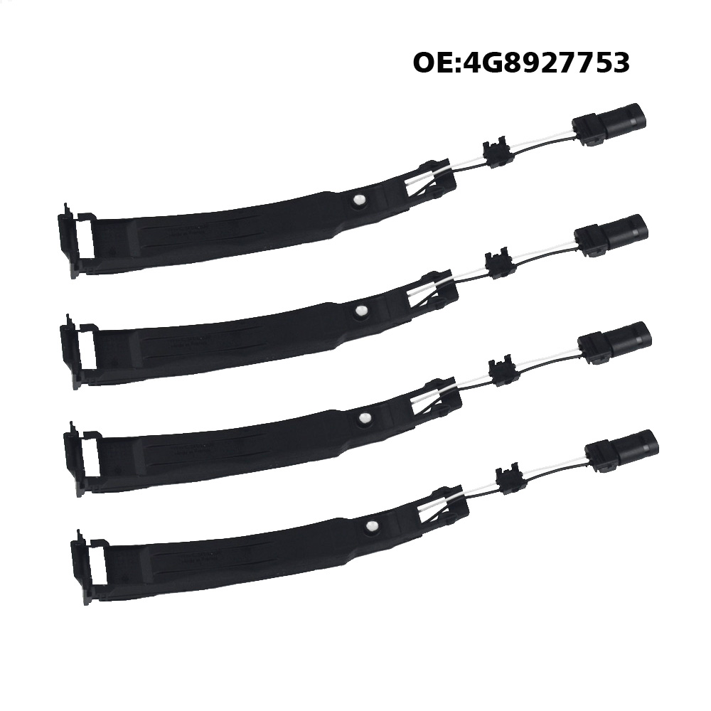 4pcs/lot Exterior Car Door Handle Sensor Pin Switch For Audi A4 A5 A6 A7 A8 Q5 4G8 927 753 4G8927753 1m 1 8m 3m e sata esata male to male extension data transfer cable cord for portable hard drive 3ft 6ft 10ft