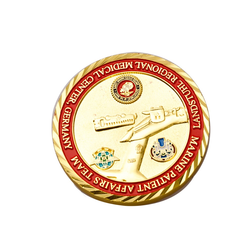 American military collection commemorative coin custom boutique golden coins in Non currency Coins from Home Garden