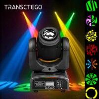 Светодиодный Gobo; поворачивающаяся головка светомузыка, DMX 512 Стадия световой эффект 7 Цветной Прожектор лазерный проектор для Bar Club DJ Главная