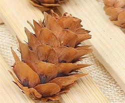 20PCS Wooden Natural Pinecone Christmas Tree Hanging DIY 3D Vivid Pine Cones Ornaments Party Christmas Decor Home Decors 3