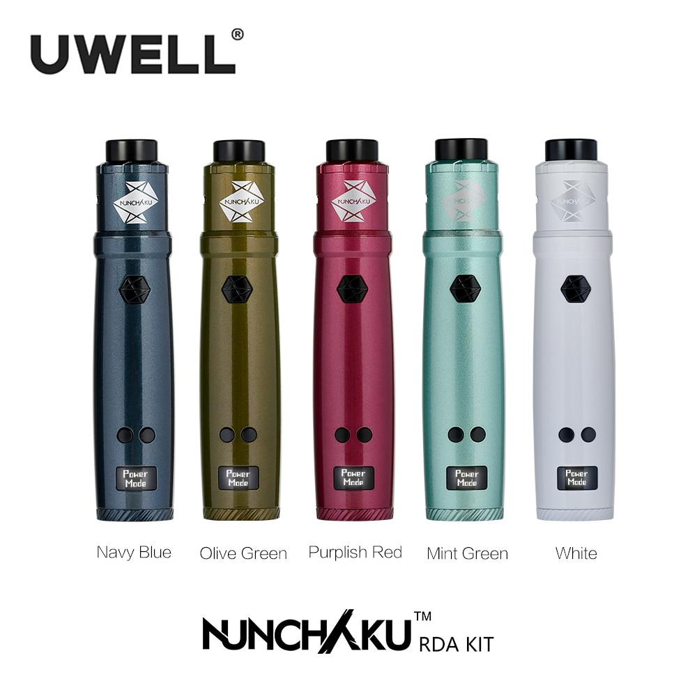 Uwell Nunchaku RDA Starter Kit 80W Powered by single 18650 battery(Without Battery) E-cigarette Vape Kit