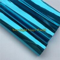 VLT 15 Blue Solar Window Foil Vinyl For Glass Buliding Home Office Size 1 52 30m