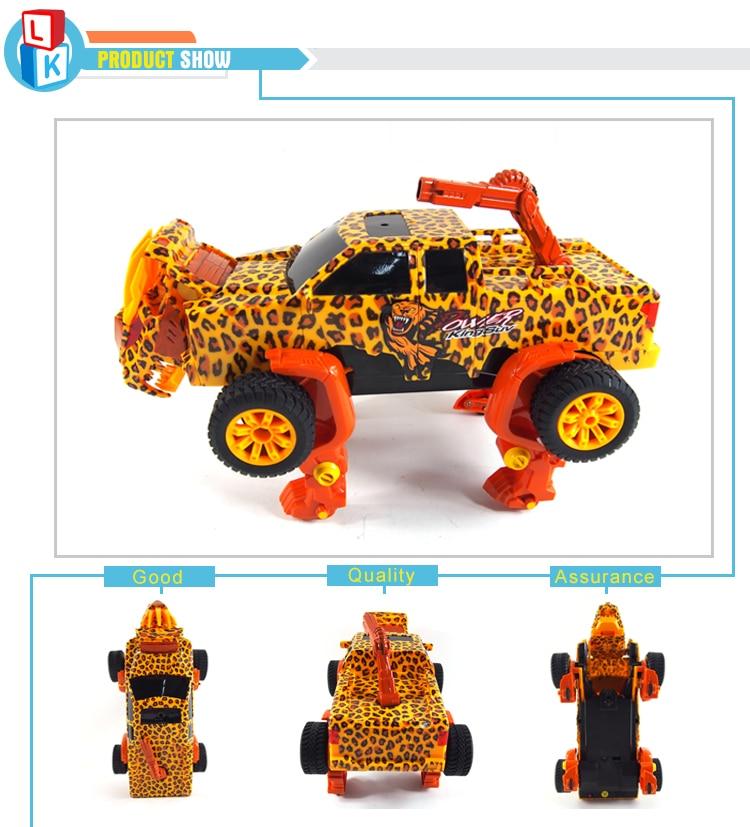 Unique Leopard Print Remote Control Stunt Car Gesture Induction Deformation Transformation rc Truck carrinho de controle remoto