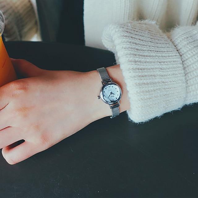 Women's watches Mini Watch Quartz Analog Small Delicate Watch Ladies wrist Watches Luxury Business women clock drop shipping #30 5
