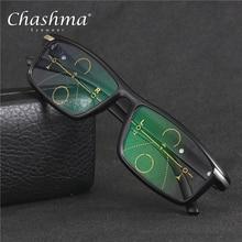 CHASHMA Brand Progressive Multifocal Lens Reading Glasses Men Oculos De Grau Presbyopia Hyperopia Bifocal Sports