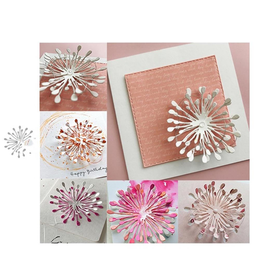 1pc Delicate leaf  Metal Cutting Dies DIY Scrapbooking Paper Cards CraftsLD
