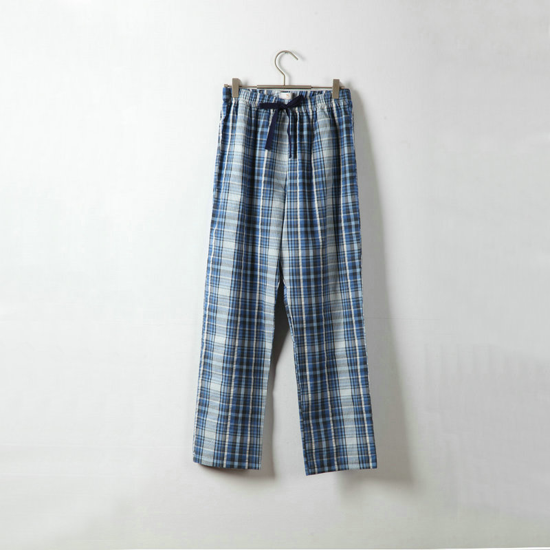 ac748fd3d32e 2017 Mens Lounge Pants Pajama Pants Men Plaid Cotton Sleeping Sleep Bottoms  Navy Blue Grey Dark Red-in Sleep Bottoms from Men s Clothing   Accessories