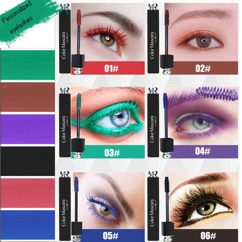 PNF-Marca-Eye-Lashes-Mascara-Trucco-Waterproof-di-Curling-Allungamento-Pigmento-Blu-Rosso-Bianco-Colore-Ciglia (1)