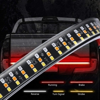 12V Tri row LED Tailgate Light For Pickup Trucks Trailers Cars SUV RV VAN IP67 Waterproof Car Led Trailer Tail Lights Car Lights